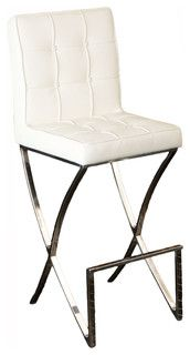 midcentury modern design white leather barstool midcentury bar stools and counter stools great deal furniture