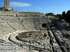 Siracusa, Sicily the Greek theater