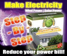 Solar panels go green energy,save money&keep world