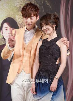 Choi Jin Hyuk and Jang Na Ra at Fated to Love You press con Choi Jin Hyuk, Jang Hyuk, Fated To Love You, Emergency Couple, Gumiho, Seo Kang Joon, Jung Yong Hwa, Great Smiles, Talent Show