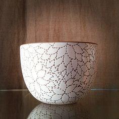 Heath Ceramics Alabama Chanin etched bowl