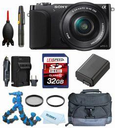 Sony NEX-3NL/B + Gadget Bag + Battery + 32GB + Flexpod + Filter Kit - http://coolreviews.buyingmanual.com/sony-nex-3nlb-gadget-bag-battery-32gb-flexpod-filter-kit.html