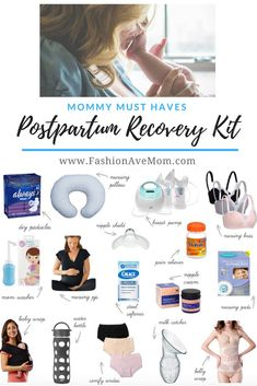 and baby hospital Mommy Must Have Postpartum Recovery Kit - FashionAveMom Mama muss postpartale Recovery-Kit haben - FashionAveMom Postpartum Must Haves, Postpartum Care, Postpartum Recovery, Pregnancy Must Haves, Postpartum Outfits, Postpartum Fashion, Postpartum Body, Post Pregnancy, Early Pregnancy
