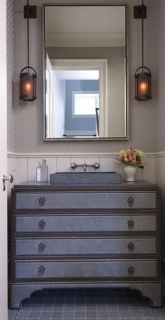 Fabulous looking sink stand!