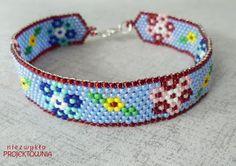 #flower #bracelet #peyote