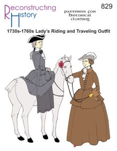 - Ladys Riding or Traveling Outfit Pattern. - Ladys Riding or Traveling Outfit Pattern. Ladys Riding or Traveling Outfit. Elizabeth Swann Costume, Wild West Costumes, Revolution Costumes, Clothing Patterns, Sewing Patterns, Jack Sparrow Costume, Golden Age Of Piracy, Military Costumes, Legend Of Sleepy Hollow