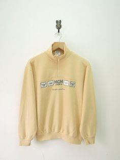 Vintage MCM Legere Modern Creation Munchen by RetroFlexClothing Funny Sweatshirts, Comfy Hoodies, Cat Sweatshirt, Graphic Sweatshirt, Swag Style, Sweater Design, Urban Fashion, New Look