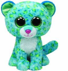 Ty Beanie Boos Leona Blue Leopard Regular Plush: The world famous Beanie Babies Beanie Boos are forever filled with fun. Ultra iconic, ever loved. Ty Beanie Babies are the best. Ty Beanie Boos, Beanie Babies, Ty Babies, Baby Kids, Ty Stuffed Animals, Plush Animals, Ty Animals, Majestic Animals, Stuffed Toys
