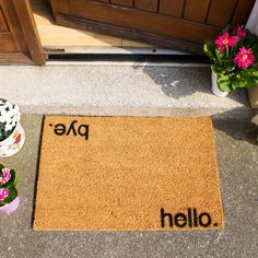 Bold & Quirky Doormats