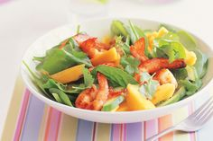 Make the most of beautiful Australian summer produce with this colourful and healthy prawn salad.