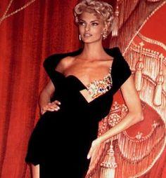 Linda Evangelista - Gianni Versace. 1991