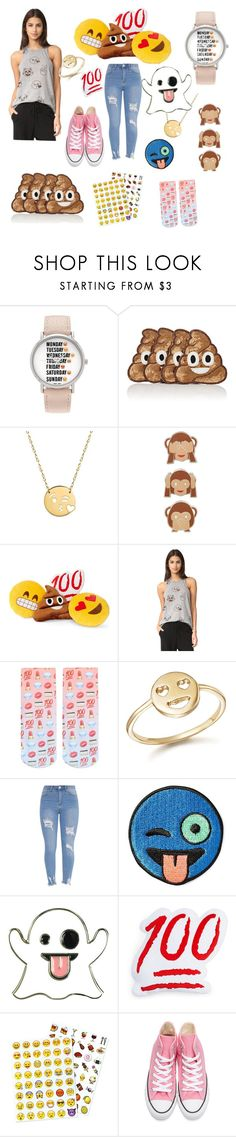 """Emoji"" by switchkid ❤ liked on Polyvore featuring Geneva, Kim Seybert, Jane Basch, PINTRILL, Throwboy, Terez, Living Royal, Bing Bang, Stoney Clover Lane and VeraMeat"