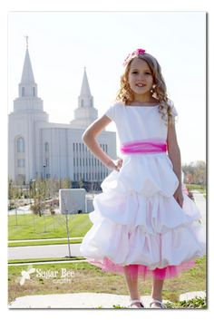Sugar Bee Crafts: sewing, recipes, crafts, photo tips, and more!: Baptism Dress