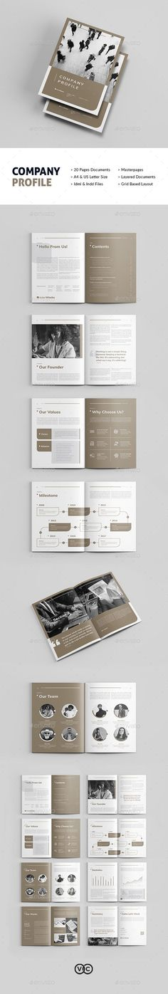 Company Profile Corporate Profile, Corporate Brochure, Business Brochure, Travel Brochure Template, Brochure Layout, Brochure Design, Company Profile Template, Company Profile Design, Stationery Printing