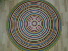 Round rug, 63'' (160 cm)/Rug/Area Rugs/Floor Rugs/Large Rugs/Handmade Rug/Carpet/Wool Rug by AnuszkaDesign on Etsy