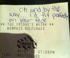 Craziest Restaurant Receipts