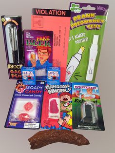 TEASE YOUR BOYFRIEND PRANK KIT...... Loaded with everything you'll need to drive your boyfriend nuts. Nine different crazy pranks that will definitely get his attention. theonestopfunshop.com