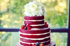 Naked (No frosting) wedding cakes. For people like me who don't like extreme amounts of sugar.