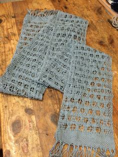 Light and lacy 100% cotton Leno weave spring time scarf