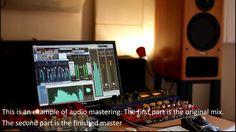 Audio Mastering Sample, Acoustic Folk. Online Mastering Studio, London