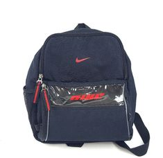 be8337543049 Small backpack NIKE RN 56323 Dark Blue Free Shipping