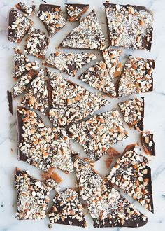An English Toffee Recipe We Can't Resist via @MyDomaine