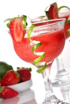 Strawberry Daiquiri Made with Vodka Recipe on Yummly