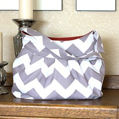 Pleated Purse in Gray Chevron Stripe Purse by CranberrySalsa, $59.00  https://www.etsy.com/listing/119432682/pleated-purse-in-gray-chevron-stripe?ref=sr_gallery_28&ga_order=date_desc&ga_view_type=gallery&ga_ref=fp_recent_more&ga_search_type=all