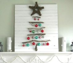 Coastal Inspired Living with Decor, Crafts and more.: Happy Holidays and Merry Christmas with Festive Coastal Christmas Rooms and Decorations