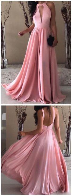 Chiffon Prom Long Dresses Open Back Evening Gowns Lace Evening Dresses, Evening Gowns, Long Dresses, Prom Dresses, Formal Dresses, Evening Party, Open Back Evening Gown, Prom Long, Party Dress