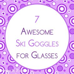7 Awesome Ski Goggles for Glasses Ski Goggles, Skiing, Personalized Items, Glasses, Awesome, Cards, Ski, Eyewear, Eyeglasses