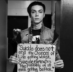 Suicide does not...