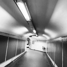 #subway #blackandwhite #perspective
