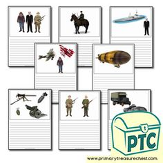 World War One Teaching Activities, Teaching Ideas, Crafts For Kids, Arts And Crafts, World War One, Treasure Chest, Wwi, High Quality Images, Worksheets