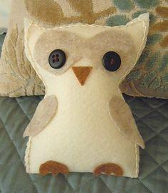 Little felt owl
