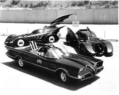 Batmobiles! (July 21 2012 - Saw the one in front drive by on the road ~Nicole)