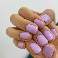 Cute Acrylic Nails, Cute Nails, Pretty Nails, Cute Short Nails, Short Gel Nails, Manicure For Short Nails, Nail Design For Short Nails, Summer Shellac Nails, Summer Nail Polish