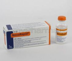 NovoRapid insulin vial