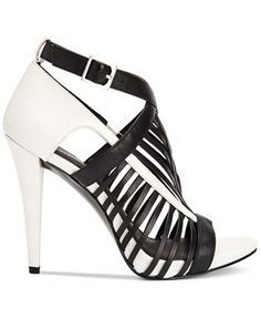 Calvin Klein Women's Naida Caged Sandals | macys.com