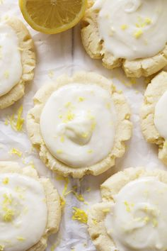 Amazingly soft and perfect lemon sugar cookies with the best lemon cream cheese frosting on top!