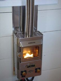 little fireplace for camper or small cabin