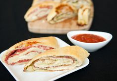 Another stromboli from my fave food blogger.  Very tasty and versatile, you can use whatever you've got on hand for fillings.
