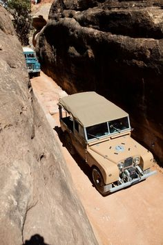 Land Rover Series IIA and Series 1, Canyonlands National Park