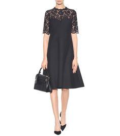 mytheresa.com - Lace-Panelled Dress » Valentino | mytheresa - Luxury Fashion for Women / Designer clothing, shoes, bags