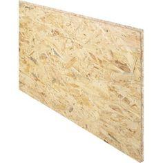 Dalle de plancher osb 3 3 plis épicéa naturel, Ep.18 mm x L.250 x l.67.5 cm