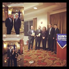 Congrats to both teams and a big thank you to GU Professor Ann Murphy and McNeice Wheeler attorney and Adjunct GU Professor Christopher Crago for their help preparing these two teams.   Gonzaga Law Students (Taracina Bintliff, Trevor Hanzeli, John Malek, and Davis Mills) competed in the Albert R. Mugel National Tax Moot Court Competition in New York last Saturday. John Malek and Trevor Hanzeli won second place overall just behind Duke University.
