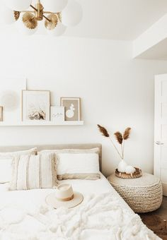 Home Interior Design .Home Interior Design Upholstered Beds, Tufted Bed, Home Decor Bedroom, Neutral Bedroom Decor, Bedroom Brown, Diy Bedroom, All White Bedroom, Single Bedroom, Home Decor Ideas