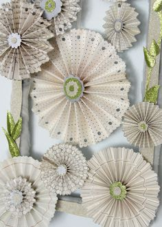 Stampin' UP!'s designer rosette big shot die makes this a piece of cake!