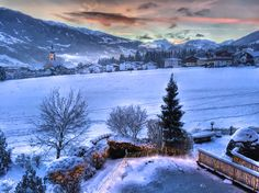 ried im zillertal, austria (hdr) Winter Snow, Hdr, Austria, Entrance, Europe, Adventure, Mountains, World, Places