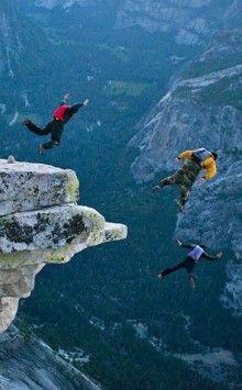 Base jumping, Yosemite